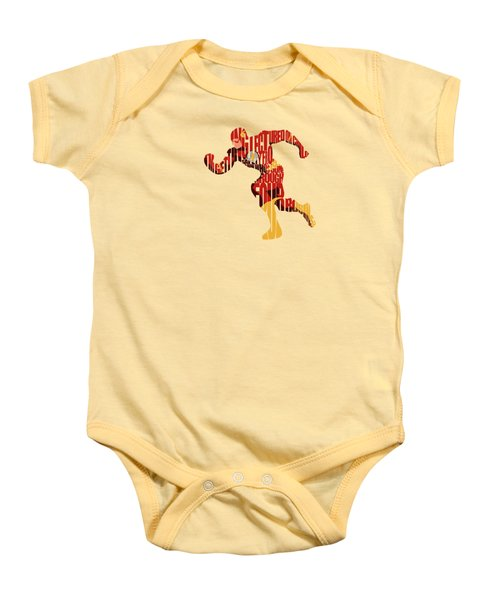 Flash Baby Onesies Pixels