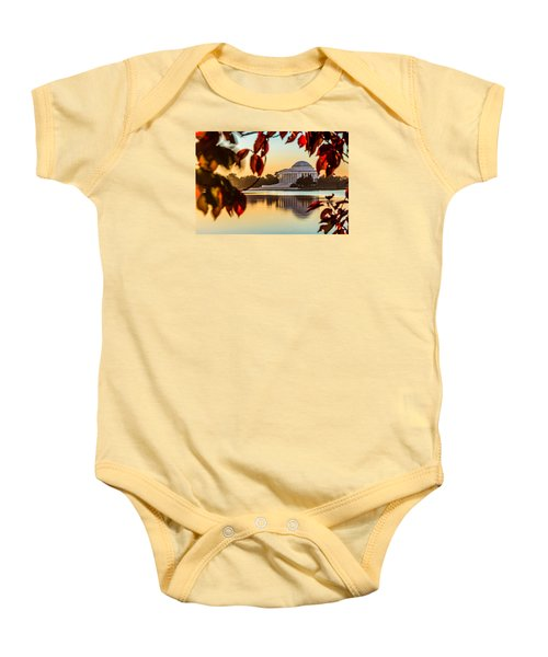 Jefferson In Autumn Baby Onesie