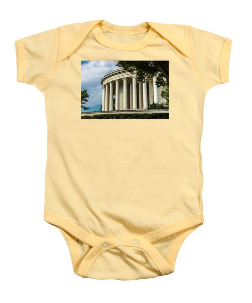 The Jefferson Memorial Baby Onesie