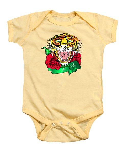 Tiger L Baby Onesie