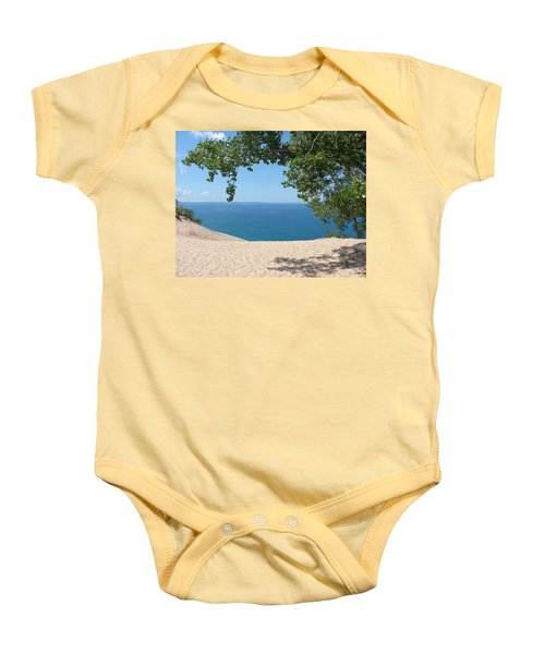 Top Of The Dune At Sleeping Bear Baby Onesie