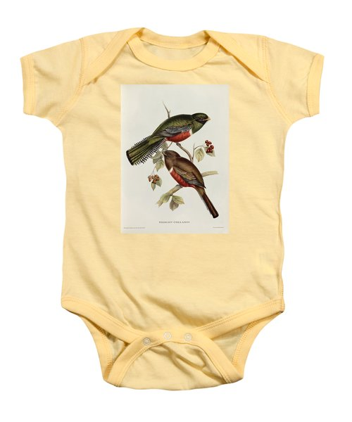 Trogon Collaris Baby Onesie