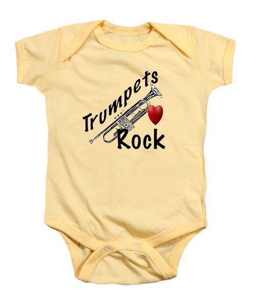 Trumpets Rock Baby Onesie