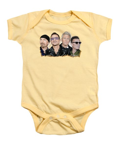U2 Band Baby Onesie