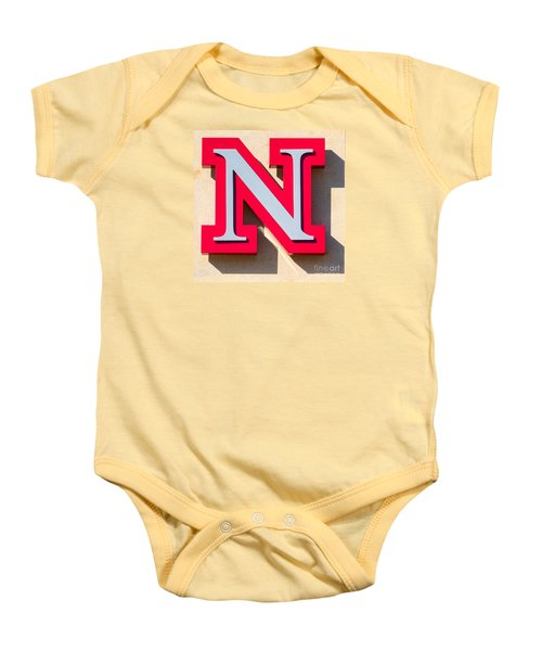 UNL Baby Onesie by Jerry Fornarotto
