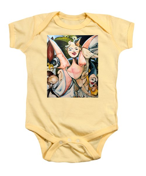 Winged Cooties Baby Onesie