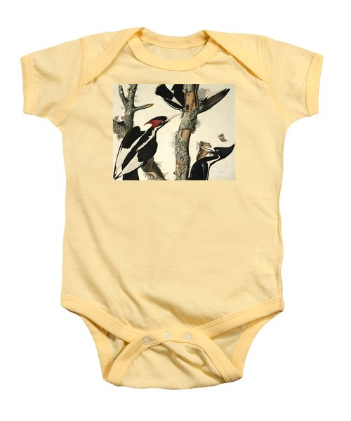 Woodpecker Baby Onesie by John James Audubon