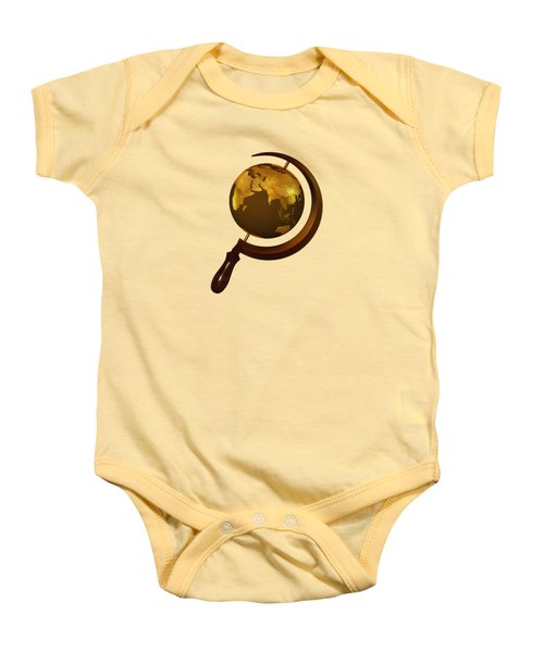 Workers Of The Globe Baby Onesie