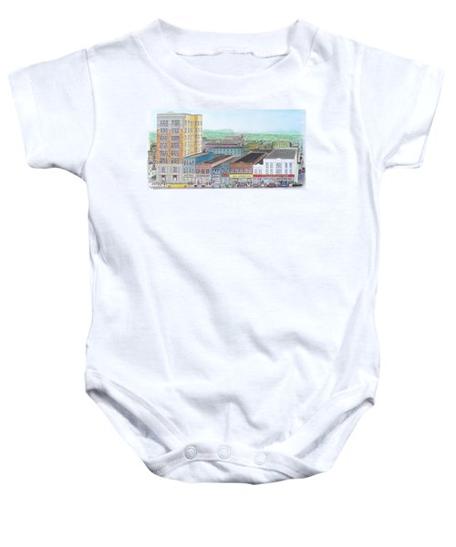 Portsmouth Ohio Dime Store Row 4th To 5th Baby Onesie