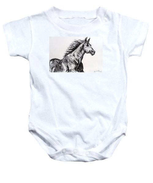 Arabian Horse Baby Onesie