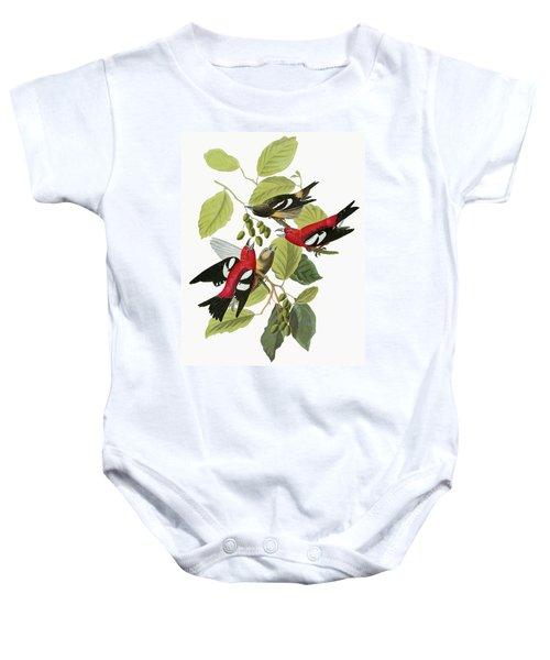 Audubon Crossbill Baby Onesie