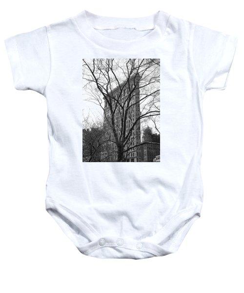 Flat Iron Tree Baby Onesie