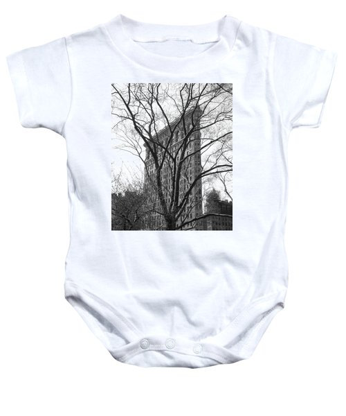 Flat Iron Tree Baby Onesie