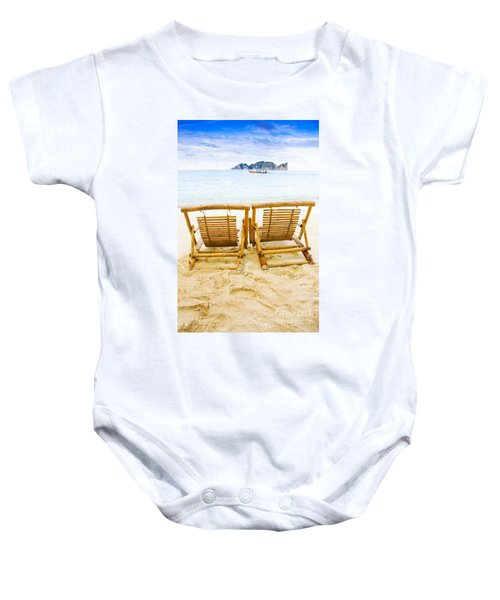 Holiday In Thai Paradise Baby Onesie