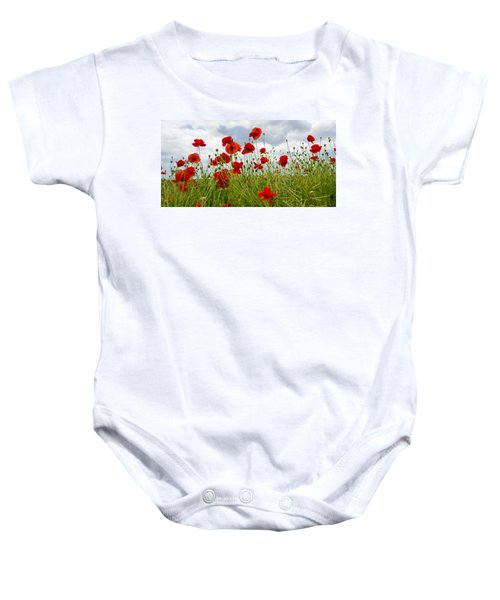 In Flanders Fields Baby Onesie