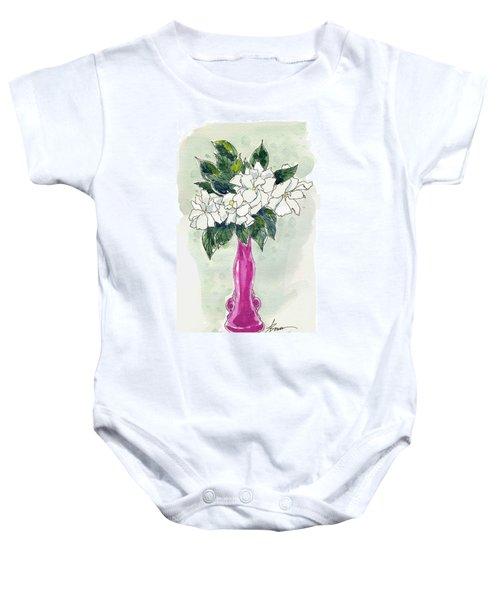Mama's Vase Baby Onesie