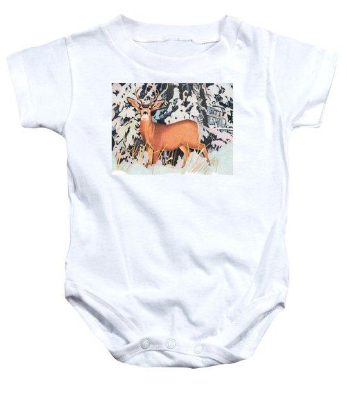 Mule Deer Baby Onesie