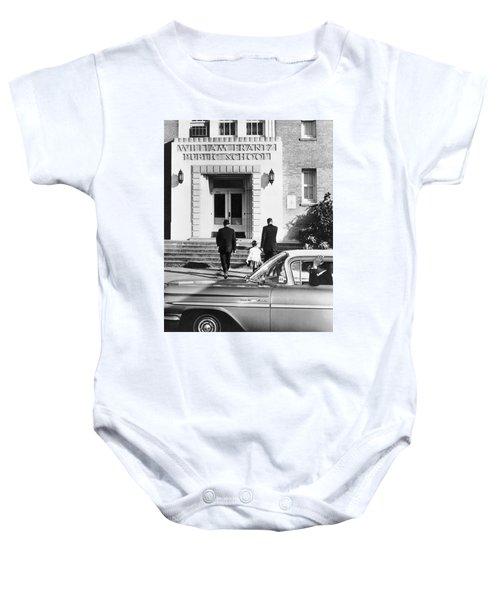 New Orleans School Integration Baby Onesie