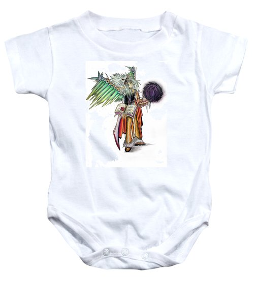 Pelusis God Of Law And Order Baby Onesie