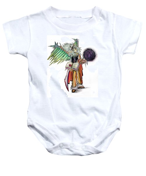 Pelusis God Of Law And Order Baby Onesie