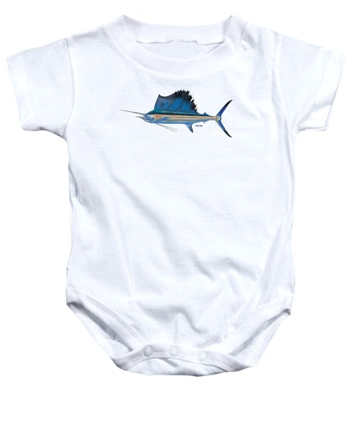 Sailfish Baby Onesie