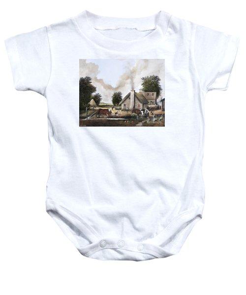 The Farmyard Baby Onesie