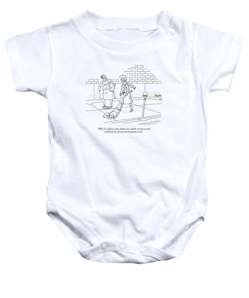 Well, It's Official. Any Chance Baby Onesie