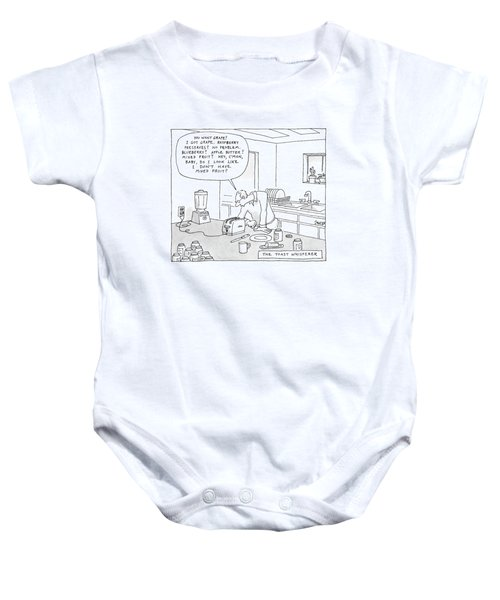 The Toast Whisperer Baby Onesie
