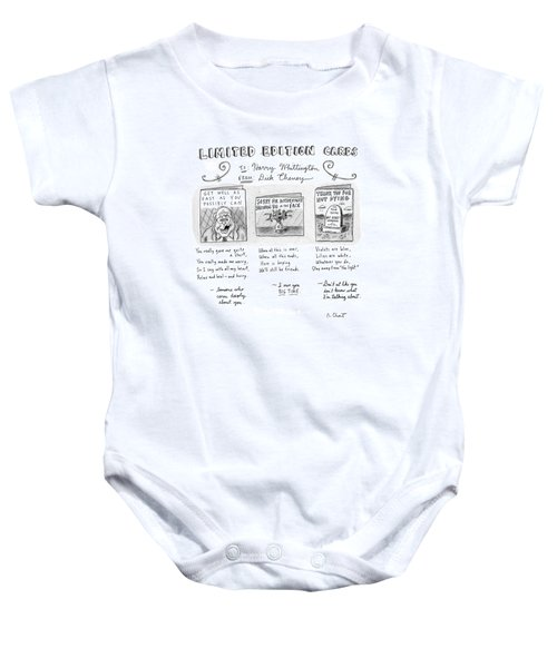 Limited Edition Cards Baby Onesie by Roz Chast