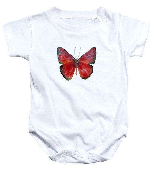 16 Mesene Rubella Butterfly Baby Onesie