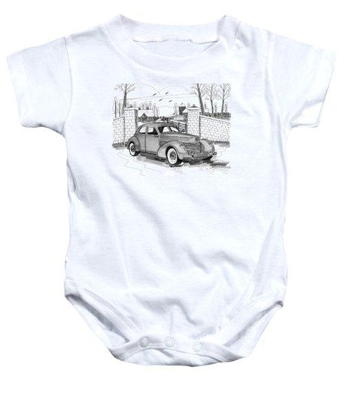 1937 Cord 812 Baby Onesie