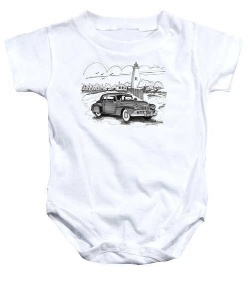 1948 Lincoln Continental Baby Onesie