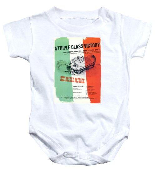1954 Xxi Mille Miglia Baby Onesie