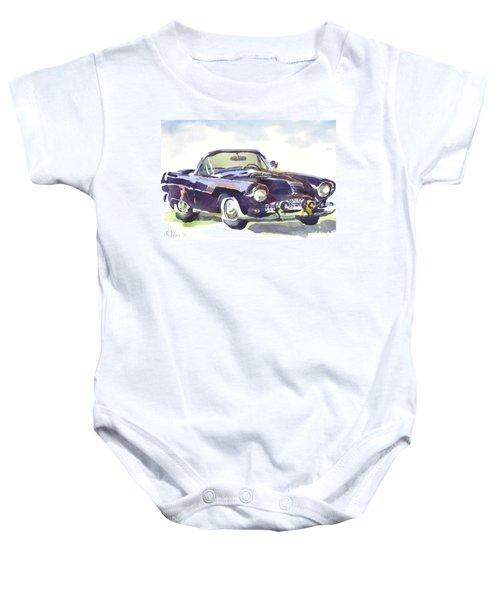 1955 Thunderbird Baby Onesie