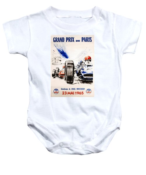 1965 Grand Prix De Paris Baby Onesie