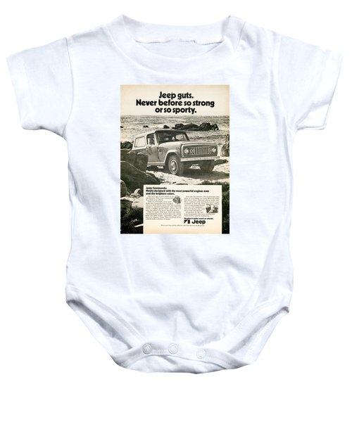 1972 Jeep Commando Baby Onesie