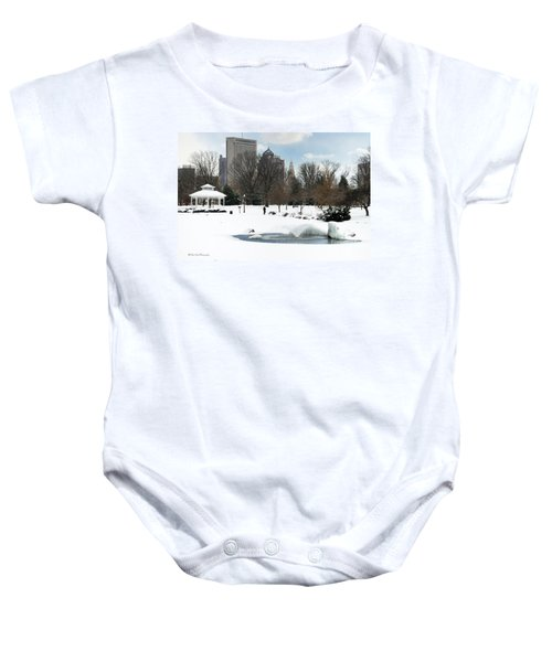 D48l3 Goodale Park Photo Baby Onesie
