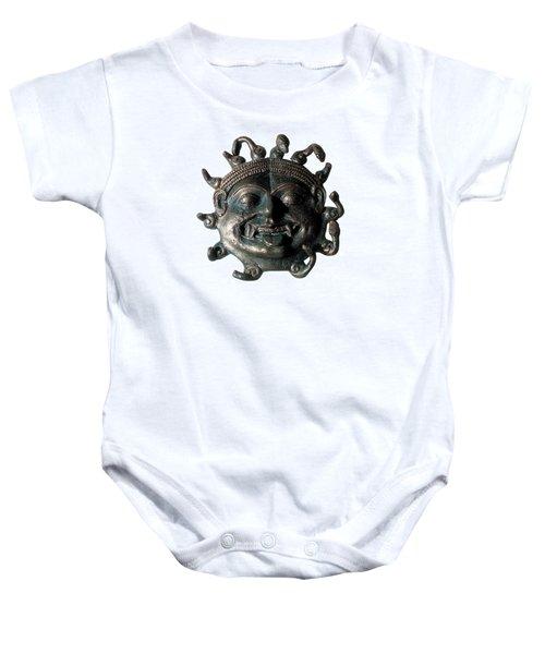 Gorgon Legendary Creature Baby Onesie by Photo Researchers