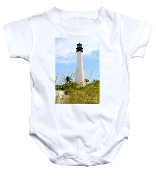 Key Biscayne Lighthouse Baby Onesie