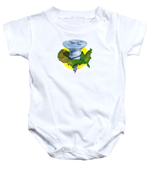 Screwed Baby Onesie