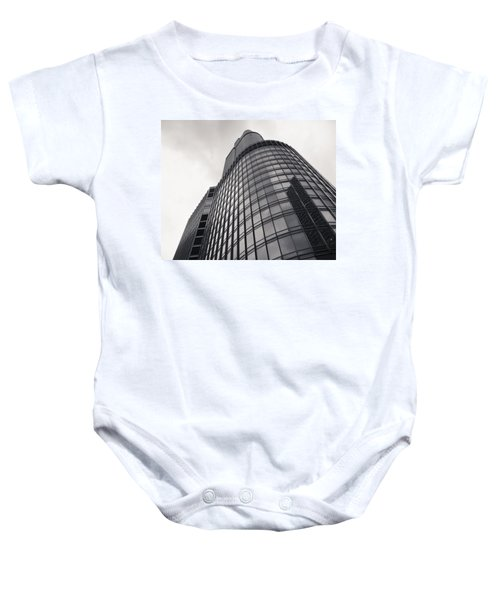 Trump Tower Chicago Baby Onesie by Adam Romanowicz