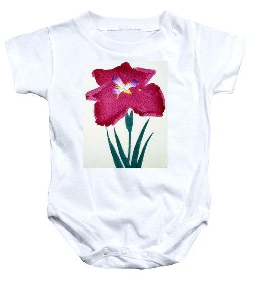 Japanese Flower Baby Onesie