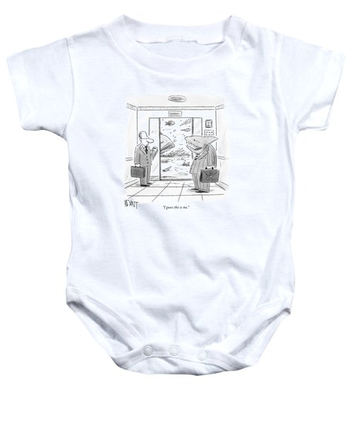 I Guess This Is Me Baby Onesie