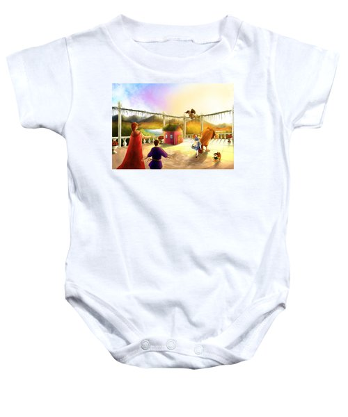 The Palace Balcony Baby Onesie