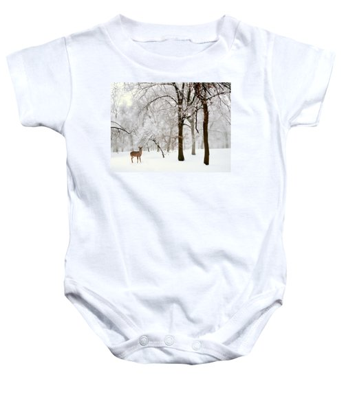 Winter's Breath Baby Onesie