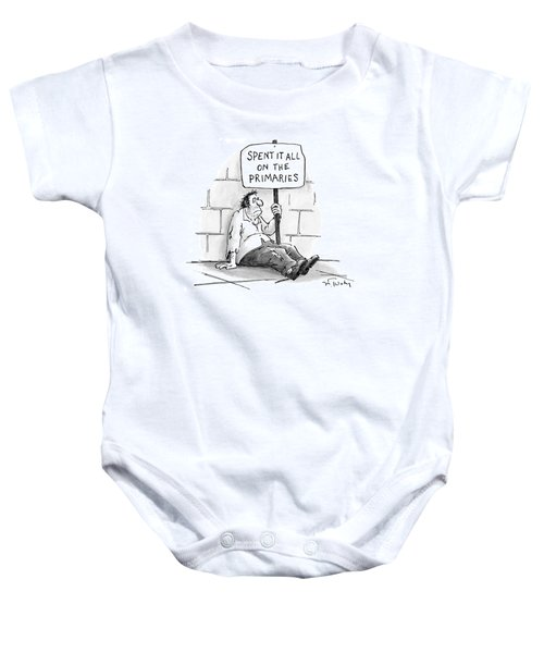 New Yorker February 21st, 2000 Baby Onesie