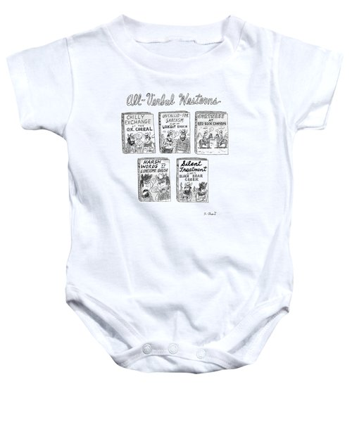 All-verbal Westerns Baby Onesie
