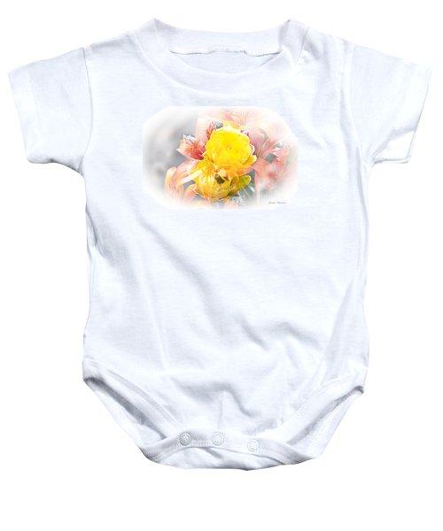Flower Burst Baby Onesie
