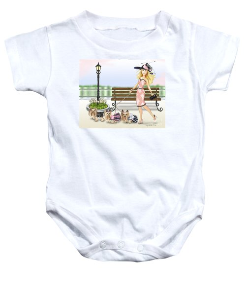 A Day At The Derby Baby Onesie