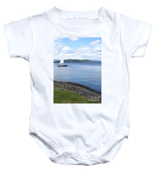 A Fine Day For A Sail Baby Onesie